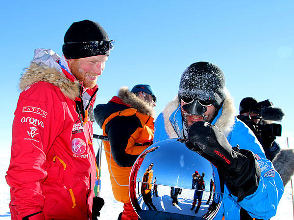Prince Harry Designed the Toilets on His South Pole Trek