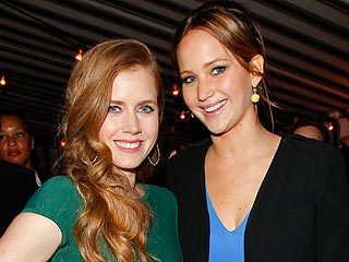 Amy Adams on Kissing Jennifer Lawrence: She Has Very Soft Lips