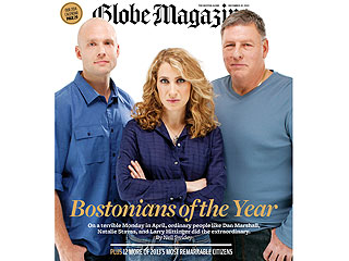 Heroes of the Marathon Bombing Named Bostonians of the Year