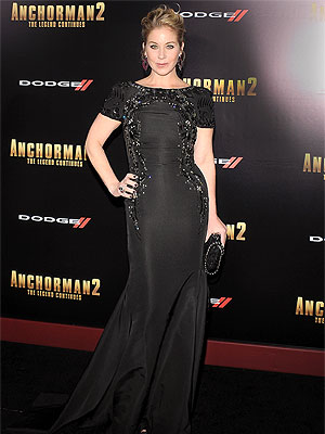 Christina Applegate Anchorman 2 NYC premiere