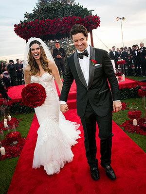 Lisalla Montenegro Marries C.J. Wilson| Marriage, Weddings