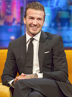 David Beckham Jonathan Ross Show