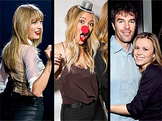 Hilary Duff Channels Rudolph the Red-Nosed Re