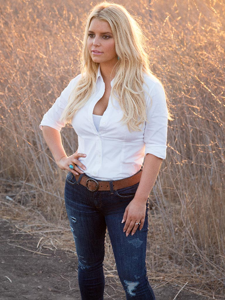 Jessica Simpson Loses Weight from Baby No. 2 - Bodywatch ...