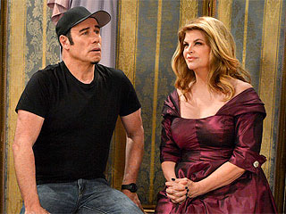 FIRST LOOK: Why Are John Travolta and Kirstie Alley in Bed Together?