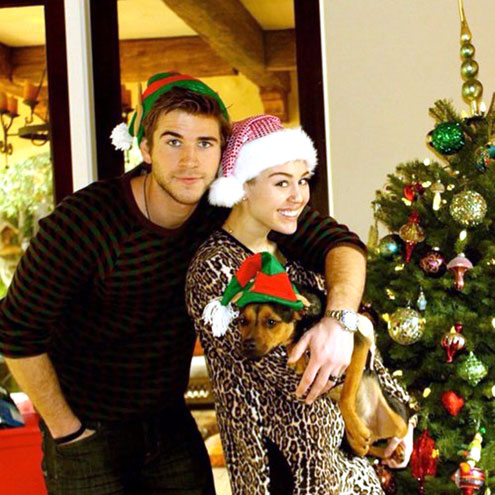 MILEY CYRUS & LIAM HEMSWORTH photo | Liam Hemsworth, Miley Cyrus