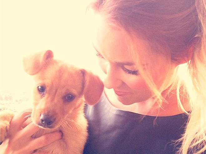 Photo of Lauren Conrad & her Dog Chloe