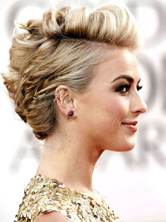 Julianne Hough Rocks (Real!) Beetle Earrings at Golden Globes | Julianne Hough