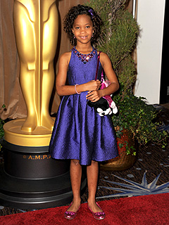 PHOTO: Quvenzhan&#233; Wallis Rocks Another Puppy Purse | Quvenzhane Wallis