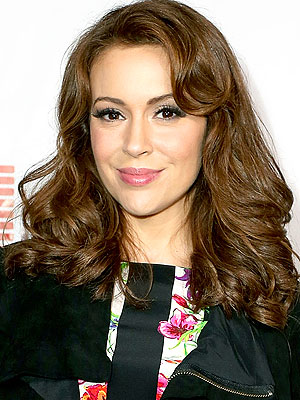 Alyssa Milano's Dog Diesel Dies of Cancer