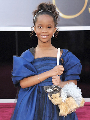 Quvenzhane Wallis Names Oscar Dog Purse Sandy