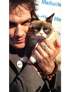 Meet Ian Somerhalder's 'New Love' | Ian Somerhalder