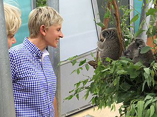 PHOTO: Ellen & Portia&#39;s Down Under Fun