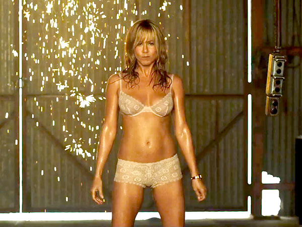 Jennifer Aniston stripper body