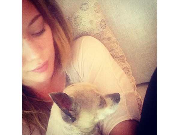 Hilary Duff's Dog Lola Dies