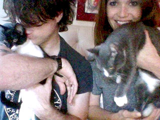 The Daily Treat: Mandy Moore Introduces Her New Rescue Cats