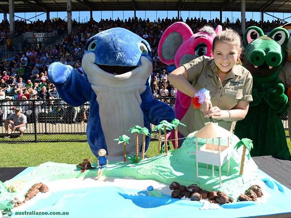The Daily Treat: Bindi Irwin Has a Furry Birthday at the Australia Zoo