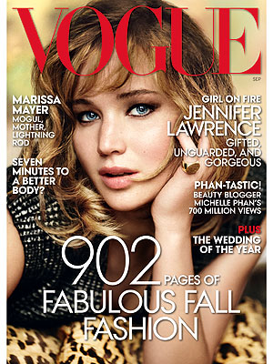 Jennifer Lawrence Poses with Dogs for Vogue Shoot| Stars and Pets, Dogs, Jennifer Lawrence