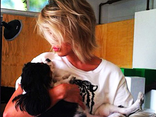 The Daily Treat: Julianne Hough Puckers Up to a Harley – Her Dog | Julianne Hough