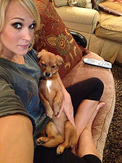 The Daily Treat: Carrie Underwood Logs Couch Time with Her 'Baby Girl'