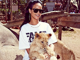 The Daily Treat: Rihanna Meets the (Furry!) Locals in South Africa