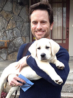 The Daily Treat: Nashville's Charles Esten Brings Home His Onscreen Dog | Stars and Pets