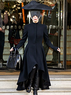 Lady Gaga Dons All Black, Mourns Death of Dog Alice | Pet Deaths, Lady Gaga