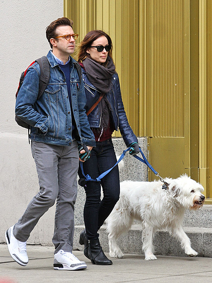 OLIVIA WILDE & JASON SUDEIKIS photo | Jason Sudeikis, Olivia Wilde