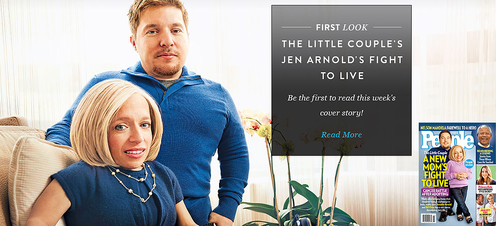 <em>The Little Couple</em>'s Jen Arnold's Fight to Live: Be the First to Read This Week's Cover Story