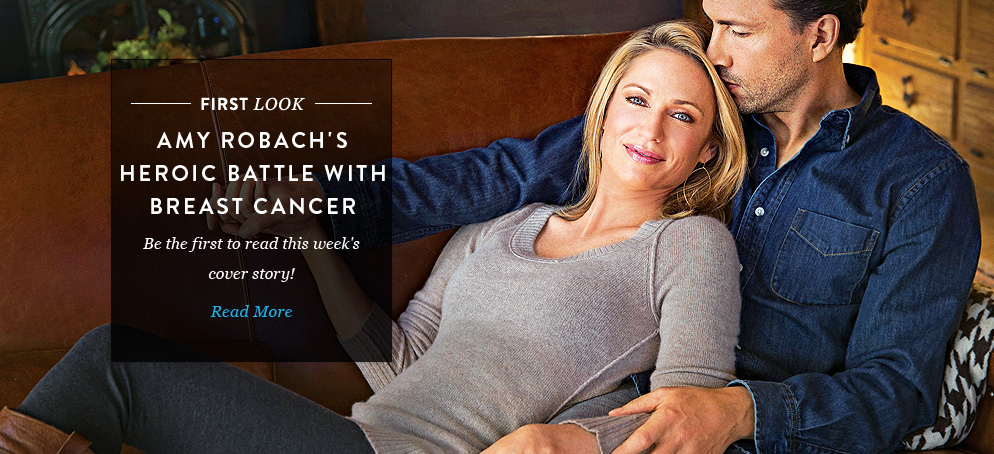 Amy Robach's Heroic Battle with Breast Cancer: Be the First to Read This Week's Cover Story