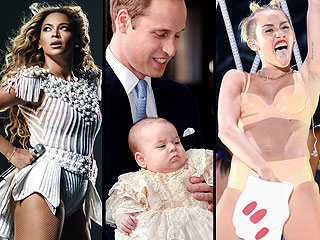 Editor's Take: The Celeb Moments That Captured Our Attention in 2013 | Beyonce, Kate Middleton, Miley Cyrus, Prince George, Prince William