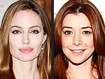 Who&#39;s Older: Angelina or Alyson? | Alyson Hannigan, Angelina Jolie
