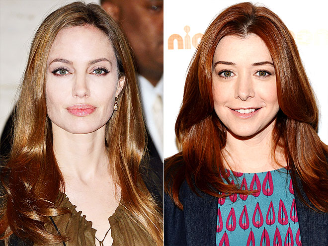 Who's older: Angelina Jolie or Alyson Hannigan? | Alyson Hannigan, Angelina Jolie