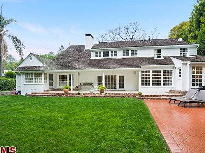 Which star traded The Hills for this Brentwood abode?