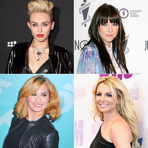 Which pop princess was born Destiny Hope? | Britney Spears, Carly Rae Jepsen, Demi Lovato, Miley Cyrus