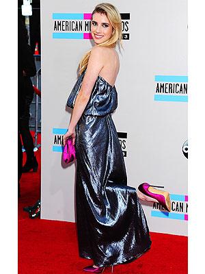 Emma Roberts AMA outfits