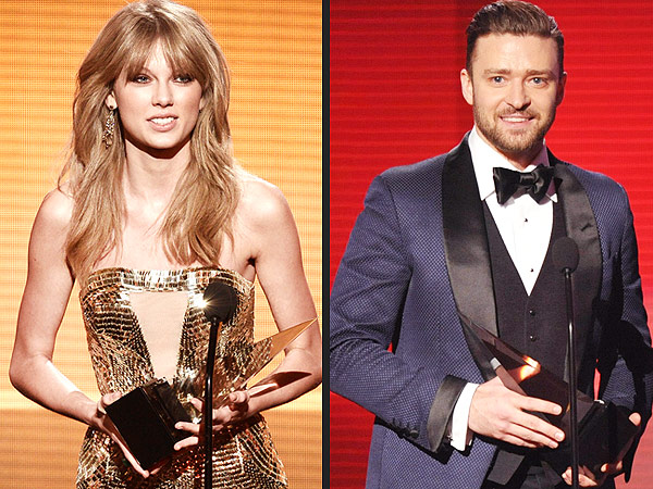 Taylor Swift Takes Home the AMAs Top Prize (Shocker!) – See Who Else Won | Justin Timberlake, Taylor Swift