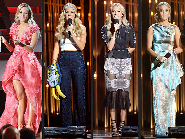 Carrie Underwood 2013 CMA dresses