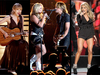 VOTE: Who Had the Best Performance at the CMAs? | Carrie Underwood, Keith Urban, Miranda Lambert, Taylor Swift