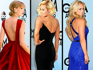 These CMA Stars Look Amazing from Front to Back