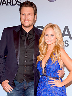 Blake Shelton & Miranda Lambert Win Male & Female Vocalist of the Year at CMAs | Blake Shelton, Miranda Lambert