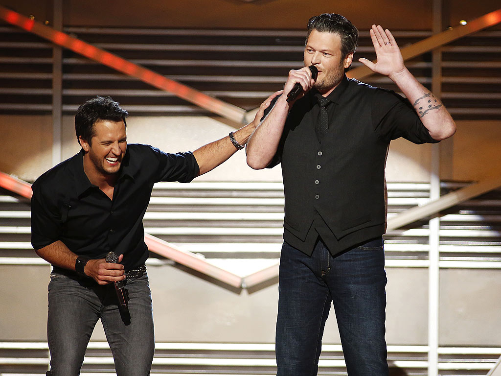 JEAN THERAPY photo | Blake Shelton, Luke Bryan