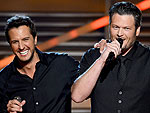 Zing! Luke & Blake's Best ACM Digs | Blake Shelton, Luke Bryan