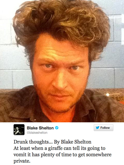 KEY WORD: DRUNK THOUGHT photo | Blake Shelton