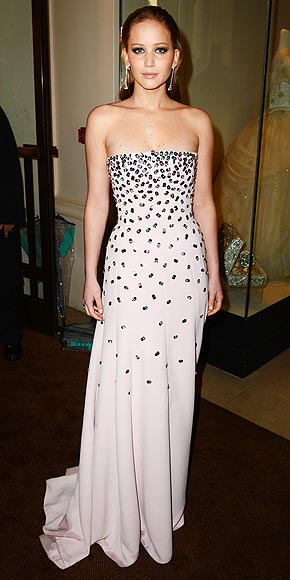 JENNIFER LAWRENCE AT THE BAFTAS photo | Jennifer Lawrence