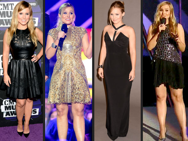 kristen bell 1 600x450 Kristen Bell's CMT Music Awards Style: Which Dress Is Your Favorite?