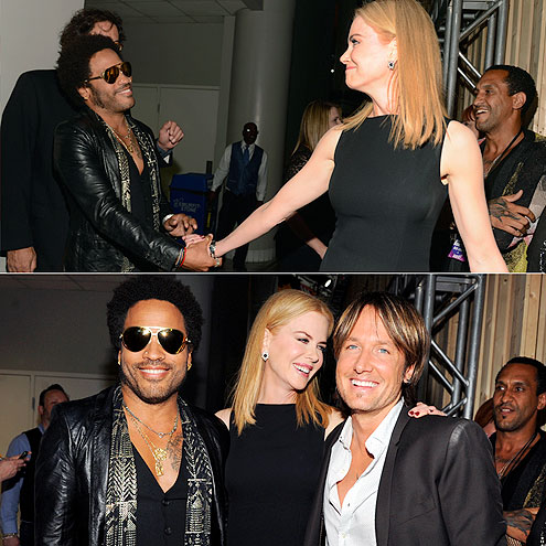 GREAT EX-PECTATIONS photo | Keith Urban, Lenny Kravitz, Nicole Kidman