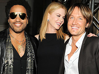 PHOTOS: Nicole Kidman & Lenny Kravitz Reunite | Keith Urban, Lenny Kravitz, Nicole Kidman