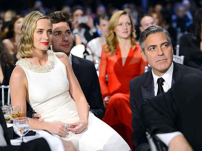 LAP OF LUXURY photo | Emily Blunt, George Clooney