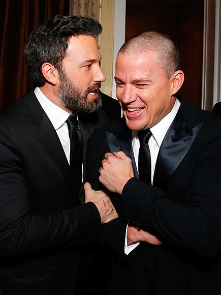 MAN POWER photo | Ben Affleck, Channing Tatum